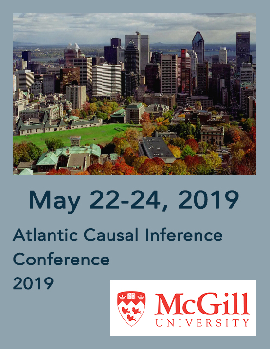 Atlantic Causal Inference Conference at McGill University